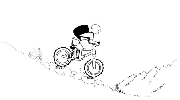 light-bikepacker_on-trail