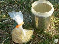 Zwei Portionen Heißer Becher (Trockengewicht ca. 160 g) garen in der isolierten Gefrierdose