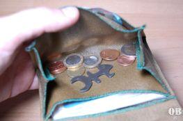 großzügiges Münzfach