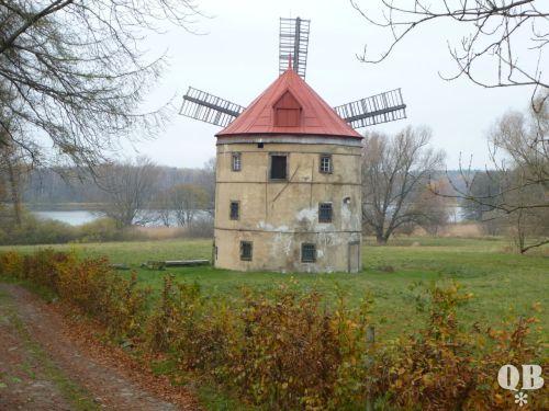 historische Mühle