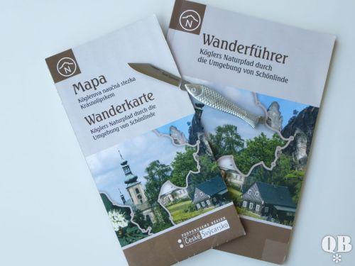 """Wanderführer und das legendäre """"Fischmesser"""""""