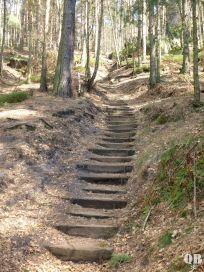 Stufen am Gohrisch
