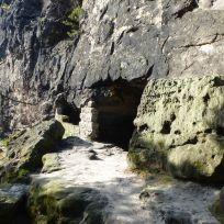Lichterhöhle (Kleinhennersdorfer Stein)