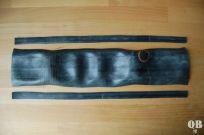 Rechteck mit ca. 44 x 9 cm ausschneiden
